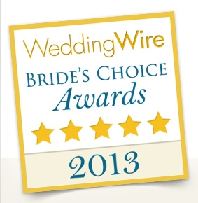 Wedding Wire – 2013 Bride's Choice Awards!